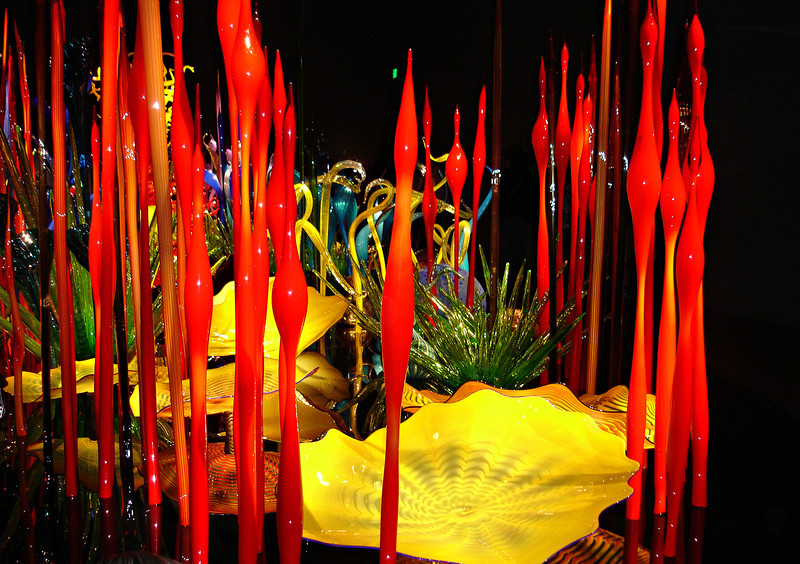 """Chihuly Glass Garden -  Seattle,WA ""<br /> <br /> <br /> The highest art is always the most religious, and the greatest artist is always a devout person.<br /> Abraham Lincoln"