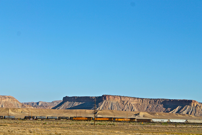 """""""Train in Desert""""<br /> <br /> """"I knew I was going to take the wrong train, so I left early.""""~Yogi Berra"""