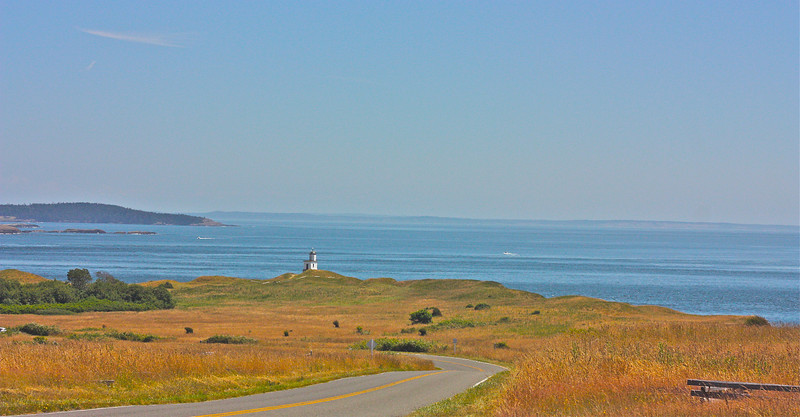 """Light House - San Juan Islands, WA""<br /> <br /> It is during our darkest moments that we must focus to see the light.~Aristotle Onassis"