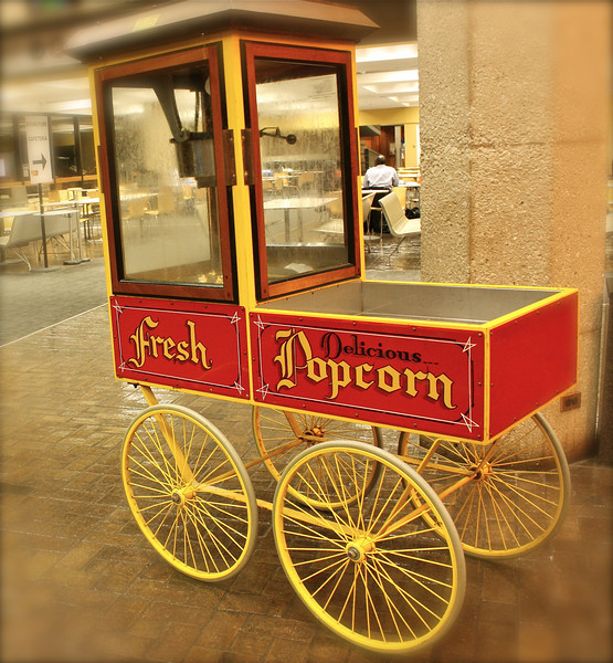 """""""Popcorn on wheels""""<br /> <br /> <br /> """"Of course life is bizarre, the more bizarre it gets, the more interesting it is. The only way to approach it is to make yourself some popcorn and enjoy the show.""""~Anonymous~"""