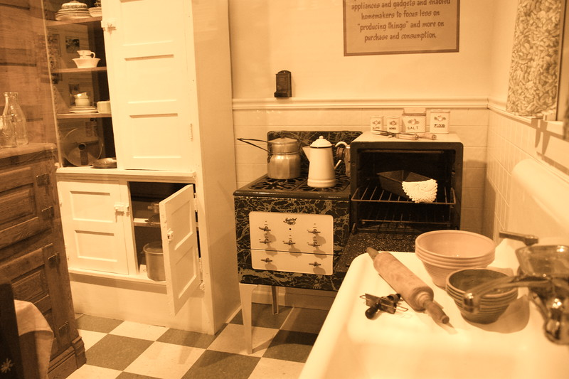 """Old Style Kitchen""<br /> <br /> <br /> ""If you can organize your kitchen, you can organize your life.""~ Louis Parrish~"