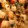 """Lost in the crowd""<br /> <br /> <br /> This is an absolutely out of focus shot which I took  when I went to a recent football game. I was lost in the crowd searching for my friends and I tried to capture my mood in this shot on how I felt at that moment...<br /> <br /> <br /> <br /> For solving a surprisingly large and varied number of problems, crowds are smarter than individuals. <br /> ~Michael Shermer ~"