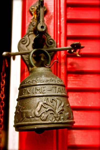"""Ringing Bell""<br /> <br /> <br /> A bell's not a bell 'til you ring it, A song's not a song 'til you sing it, Love in your heart wasn't put there to stay, Love isn't love 'til you give it away! ~Oscar Hammerstein II ~"