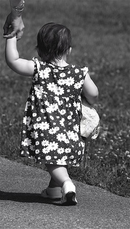 """Baby Steps ""   ""The finest inheritance you can give to a child is to allow it to make its own way, completely on its own feet""  ~ Isadora Duncan ~"