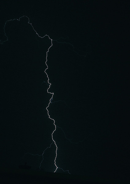 """"""" A crack in the sky""""<br /> <br /> <br /> <br /> """"Thunder is good, thunder is impressive; but it is lightning that does all the work"""" ~  Mark Twain ~"""