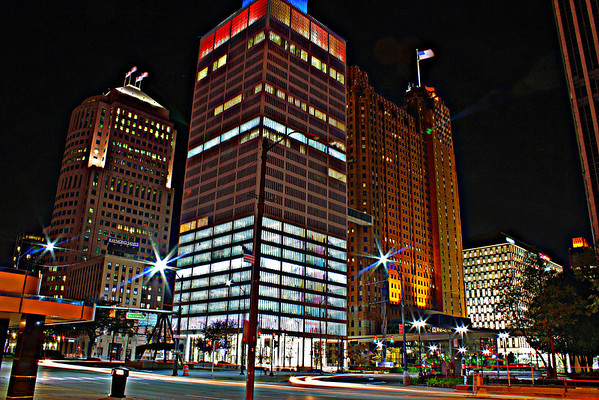 Downtown Detroit,Mi.