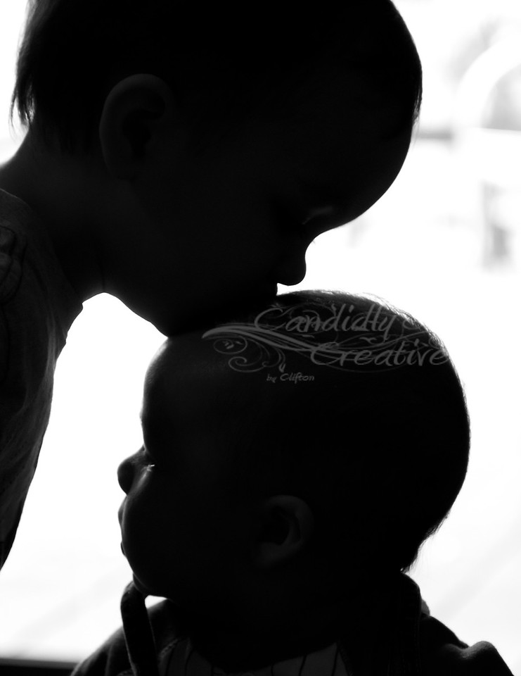 Brotherly love :) This image won second place in a photo contest by smugmug :)