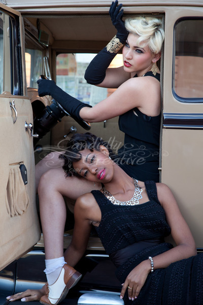 Models - Ashley Angel & Juliana Pfeffer<br /> Shoot Organizer - Mary Stokley Gromer<br /> Hair Stylist  AShley - Stacey Barton<br /> Hair Stylies Juliana - Noelle Lynne <br /> Makeup Ashley - Tina Audisio <br /> Makeup- Julianna - Shaikh Beela<br /> Stylist - Allison Marie<br /> Photography by Debbie Clifton