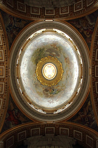 Interior of the Vatican
