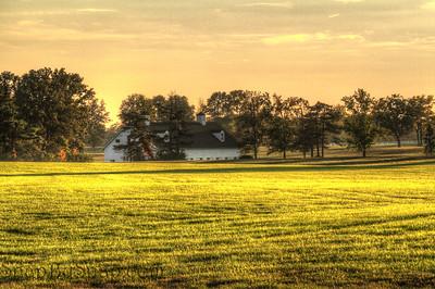 Evening Barn