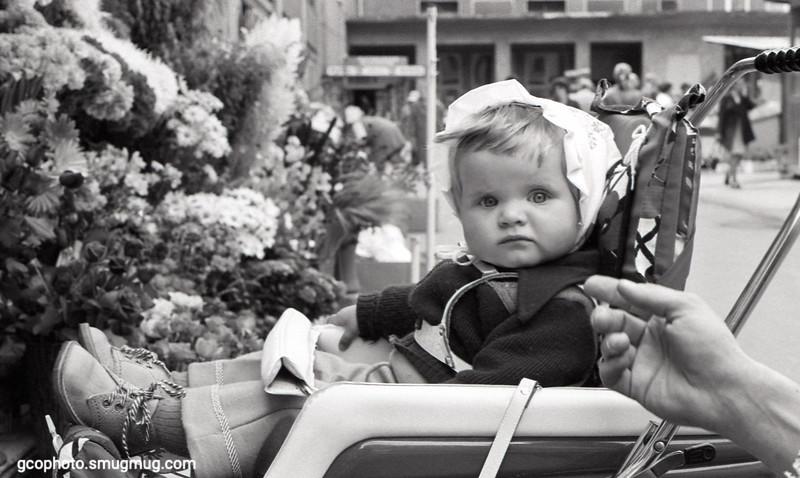 1974 - German baby in Augsburg