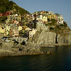 Manarola. Time-lapse made with a technique called exposure fusion, where every frame is made of three images bracketed and merged together to get more dynamic range.