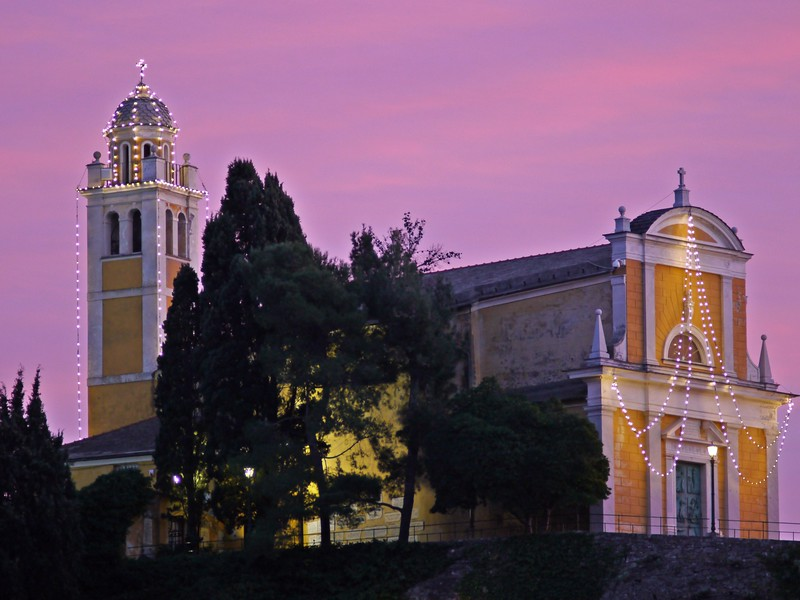 Portofino, chiesa di San Giorgio