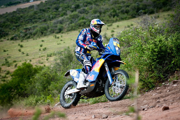 Cyril Despres in action during the secound stage of Dakar Rally between Cordoba and Tucuman, Argentina on january 3rd, 2011