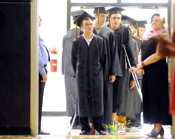 Daleville's graduation on Friday.
