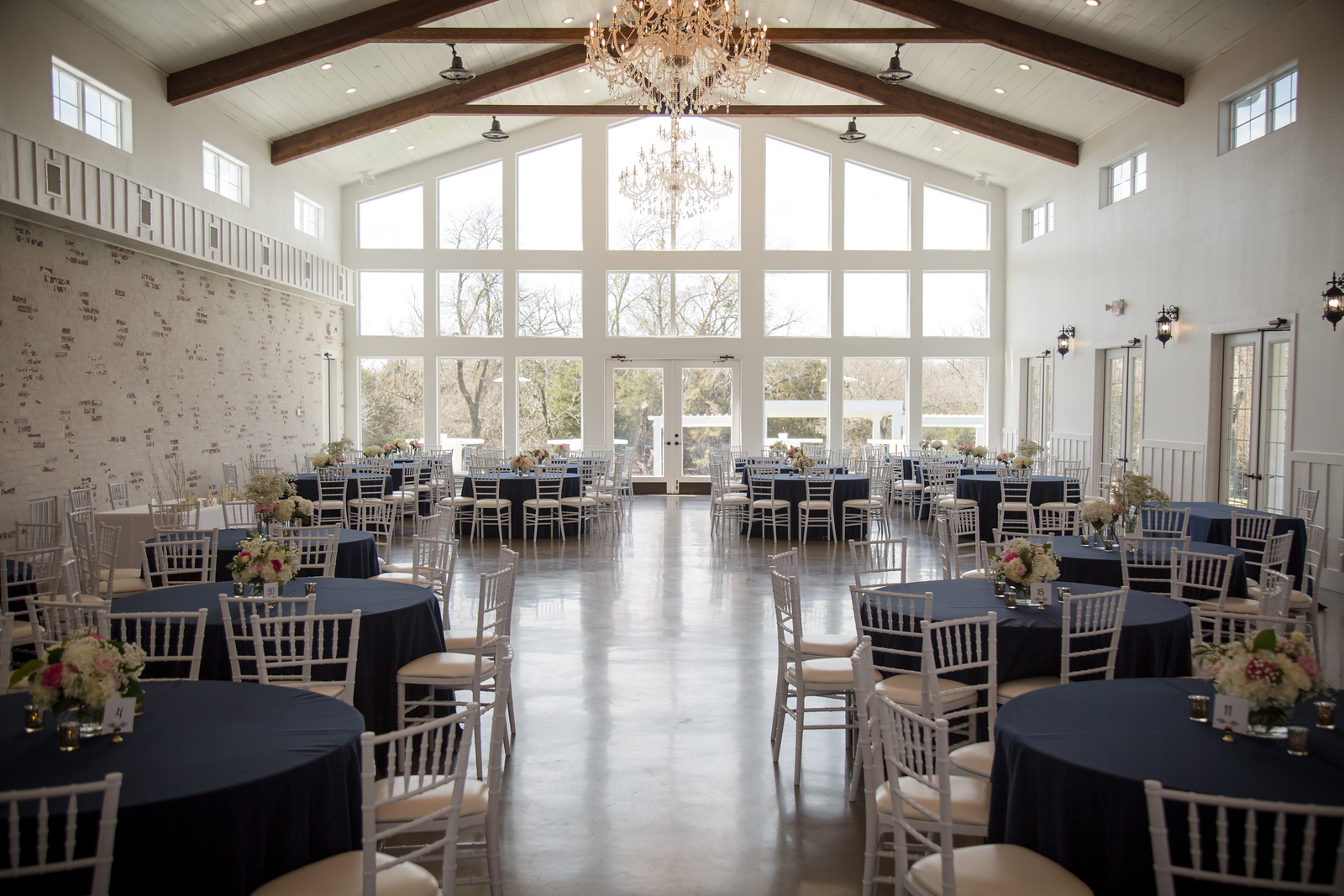 reception hall of Firefly Gardens
