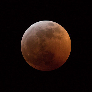 Super Blood Wolf Lunar Eclipse Full Moon 007