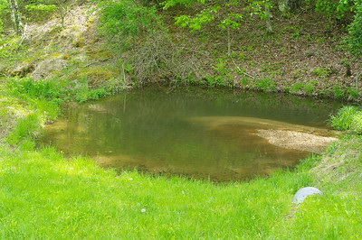 small pond leading to big pond