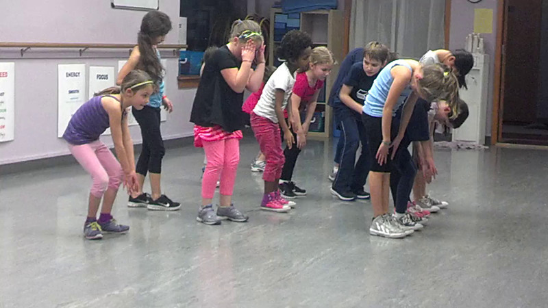 Amelia dance routine