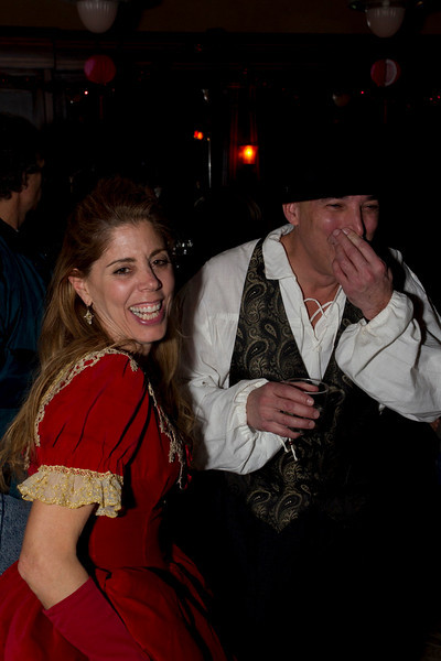 Silly people at Valentines Ball at Distillery