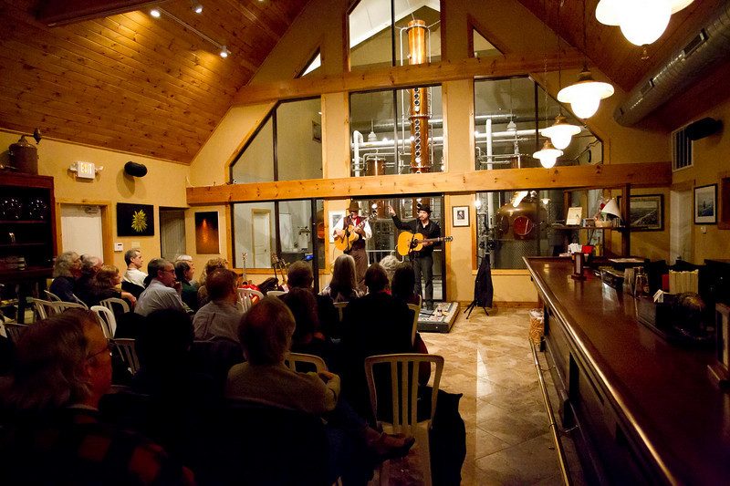 Concert at Distillery