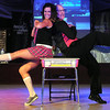 """Rosa Parks Elementary School principal Rick Lund and Bridget Carson dance to the Jackson Five's """"ABC"""" during Saturday's Dancing With the Mankato Stars."""