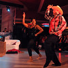 Liv Aveda Salon and Spa's Tim Tupy and Jen James dance to a country song during Saturday's Dancing With the Mankato Stars.