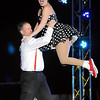 Pat Christman<br /> Rich Peller and Nicole Mueller dance during Dancing with the Mankato Stars Saturday. The pair were champion fundraisers during the event.