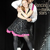 Pat Christman<br /> Dairy Queen West owner Joe Gali dances with Brenda Martinson during Dancing with the Mankato Stars Saturday.