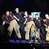 "Pat Christman<br /> ""Guns and Hoses,"" a group of Mankato firefighters and police officers, perform during Dancing with the Mankato Stars Saturday."