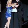 Pat Christman<br /> Angie VanEman and Travis Shafer dance during Dancing with the Mankato Stars Saturday.