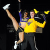 Pat Christman<br /> Minnesota State University Athletic Director Kevin Buisman dances with Tina Flewellyn during Dancing with the Mankato Stars Saturday. The pair won the people's choice award for their dance.
