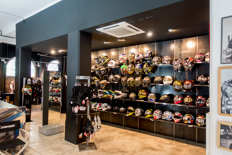 Helmet Section