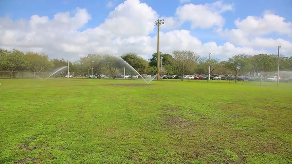 Video 8:47 of Sprinkler in action