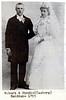 Robert  Dedrich Sandman and Birdie Charlotte (Casberg) Sandman wedding  - 1895