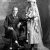 Wilbur Larson (8/29/188896 - 6/12/1983) and Margaret Gertrude Sandman ( (6/29/1896 - 2/24/1897) wedding Aug. 26, 1920