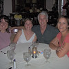 At dinner Saturday with Deeann, Kait, Kevin (Kait's uncle) and Kari