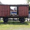 Wooden Van 166497 at Darlington Railway Museum 24/06/12