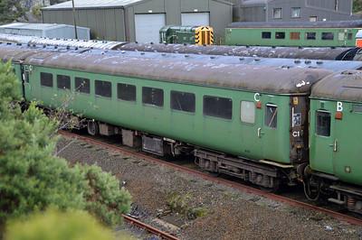 6181 MK2 TSO at Meldon Quarry  28/08/15.