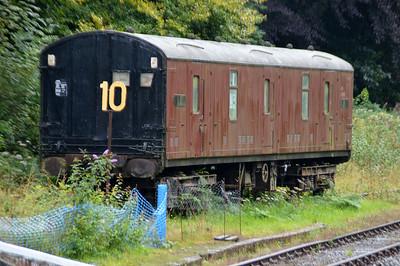 86443 GUV at Okehampton Station  28/08/15.