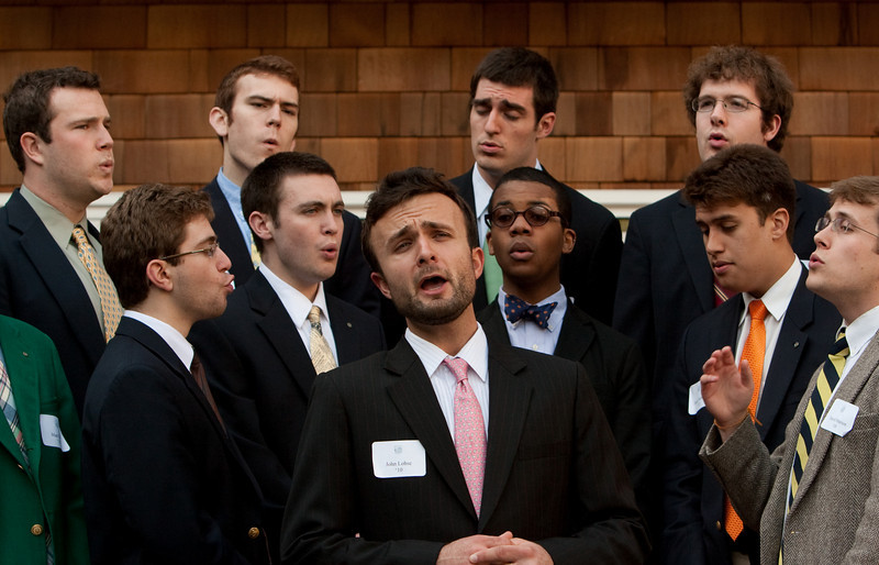 The Dartmouth Aires' second session, featuring Jon Lohse '10 singing an Irish ditty.