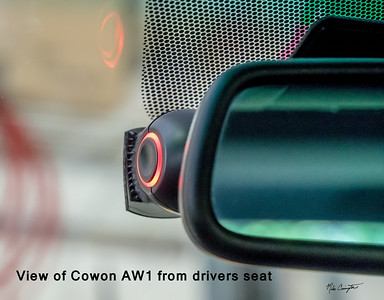 Cowon from drivers seat