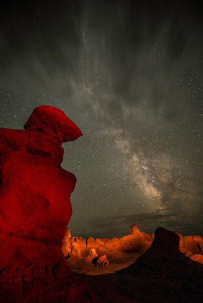 Goblin Valley Night