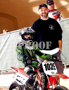 Dominic DeMario and Dad