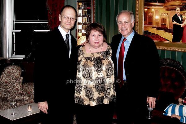 David Hyde Pierce, Suzanne Toback, Joe Benincasa