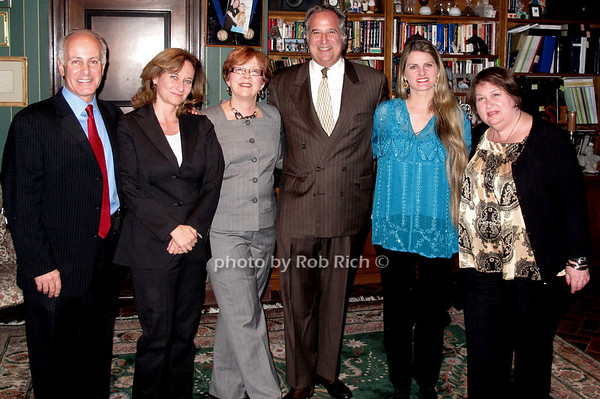 Joe Benincasa, Barbara Davis, Nancy Benincasa, Stewart Lane, Bonnie Comley, Suzanne Toback