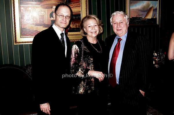 David Hyde Pierce, Silvia Steiner and Honorable David Steiner