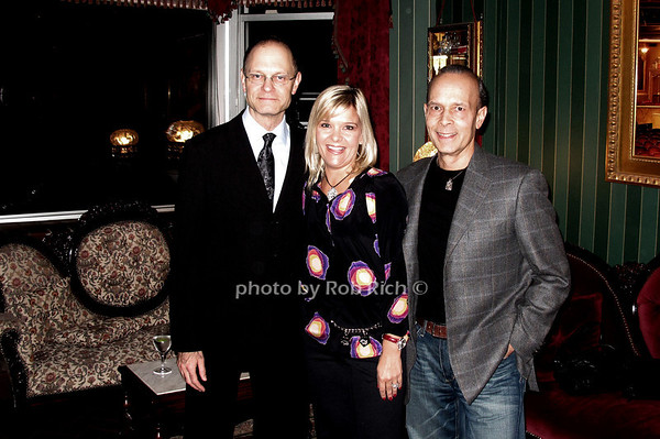 David Hyde Pierce, Lauren Pizza, Joe Pizza