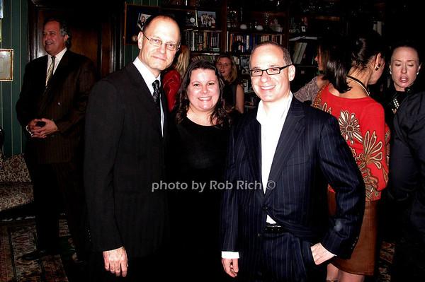 David Hyde Pierce, Carol Crespo, Lee Harris