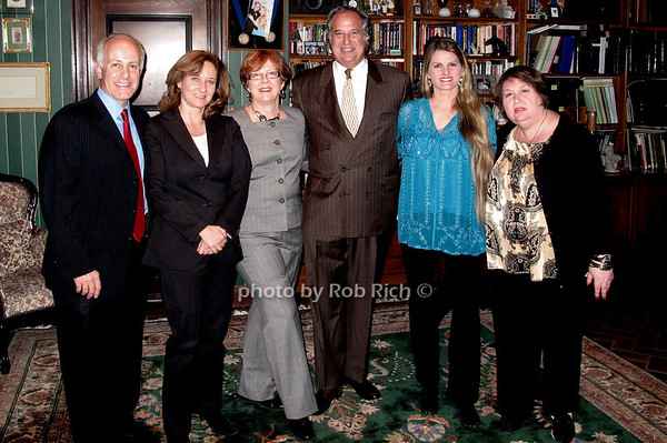 Joe Benincasa, Barbara Davis, Nancy Benincasa, Stewart Lane, Bonnie Comley & Suzanne Toback
